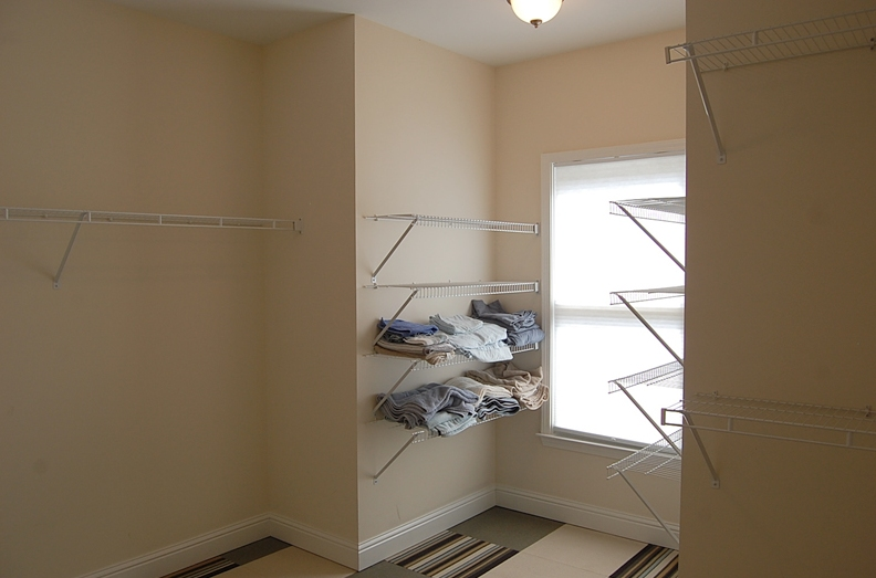 Huge walk-in closet in Owner's suite