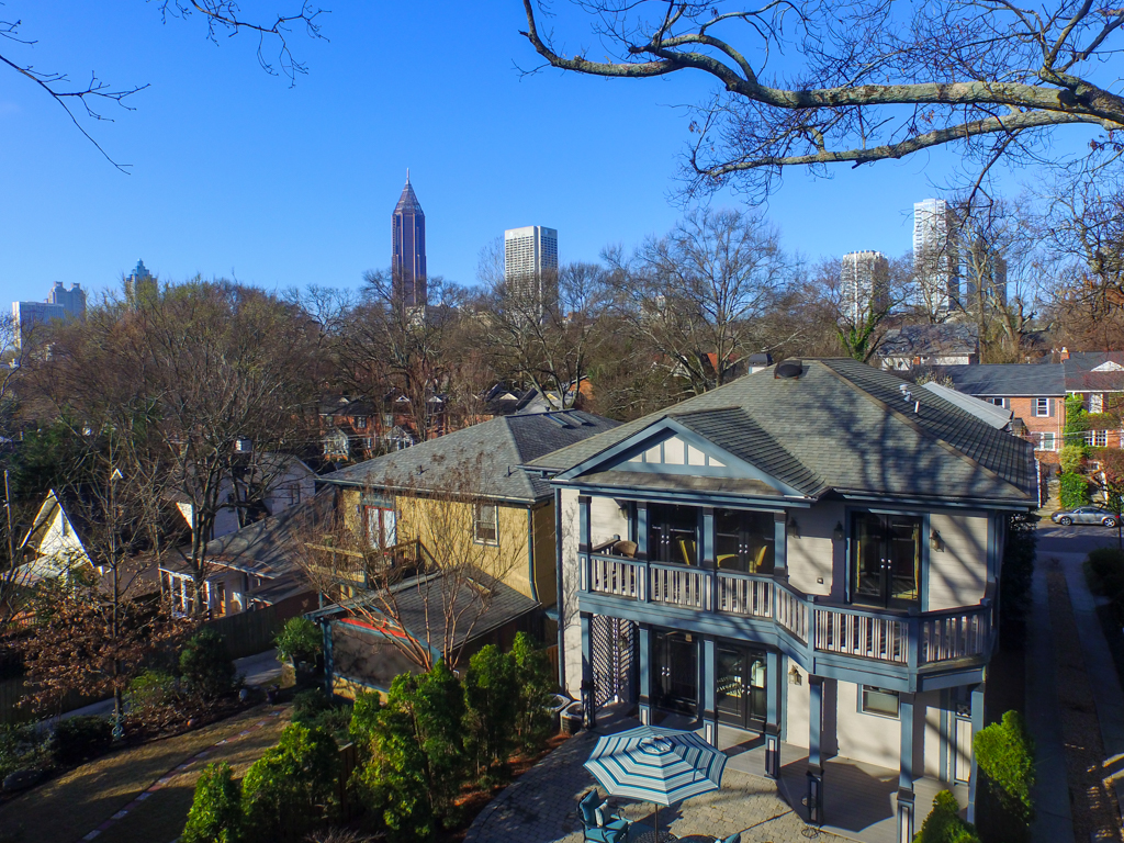 3 - View towards south Midtown - Just a few blocks away!