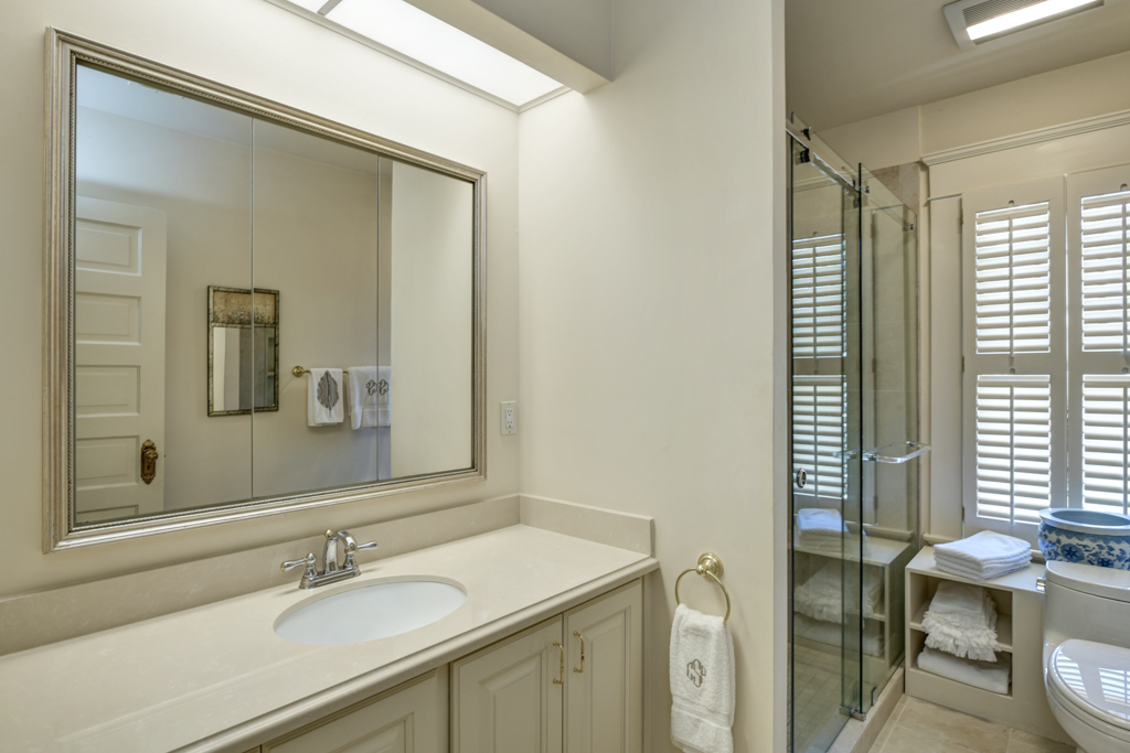 22. Master bathroom