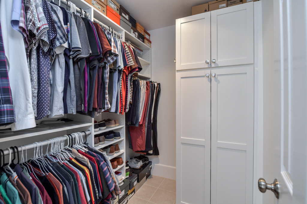 Walk-in closet for bedroom #3