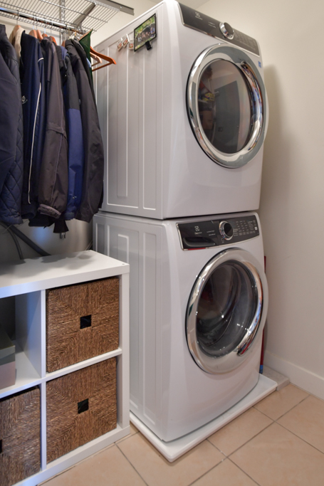 15. Laundry room with additional storage