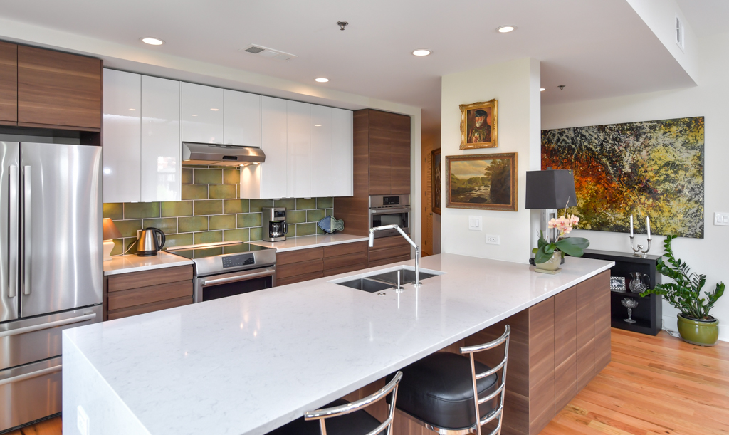 18. Two-tone cabinetry with tons of additional storage