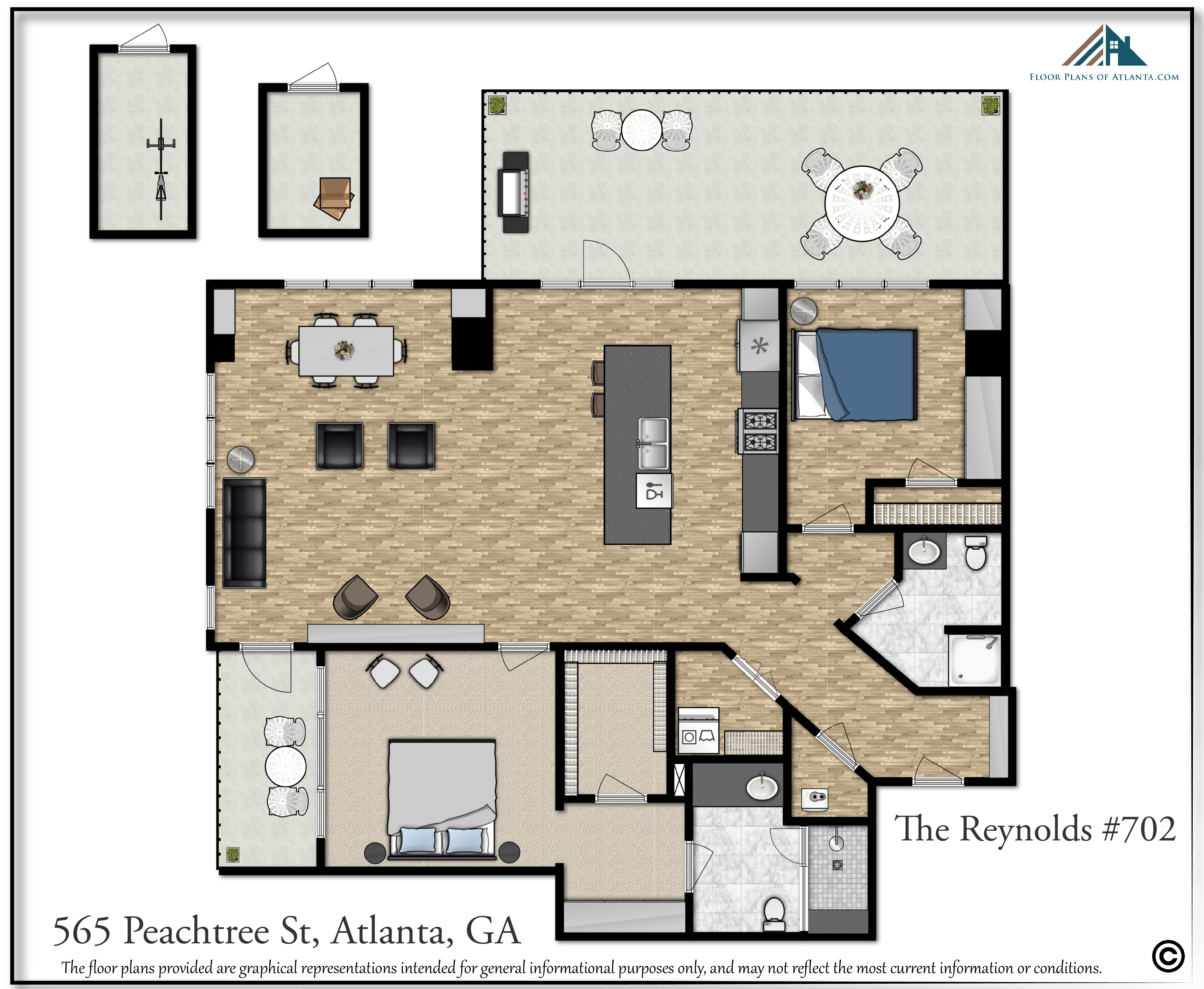 20. Layout with exterior space and extra storage