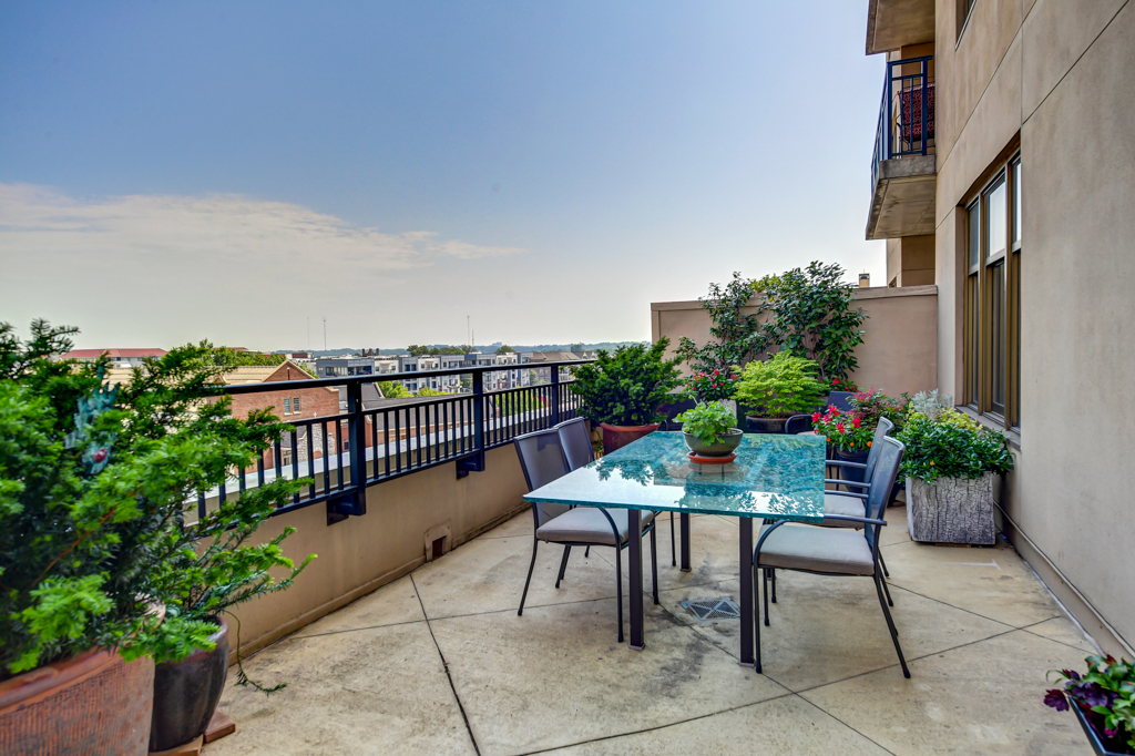 33. 31-ft X 11-ft private terrace