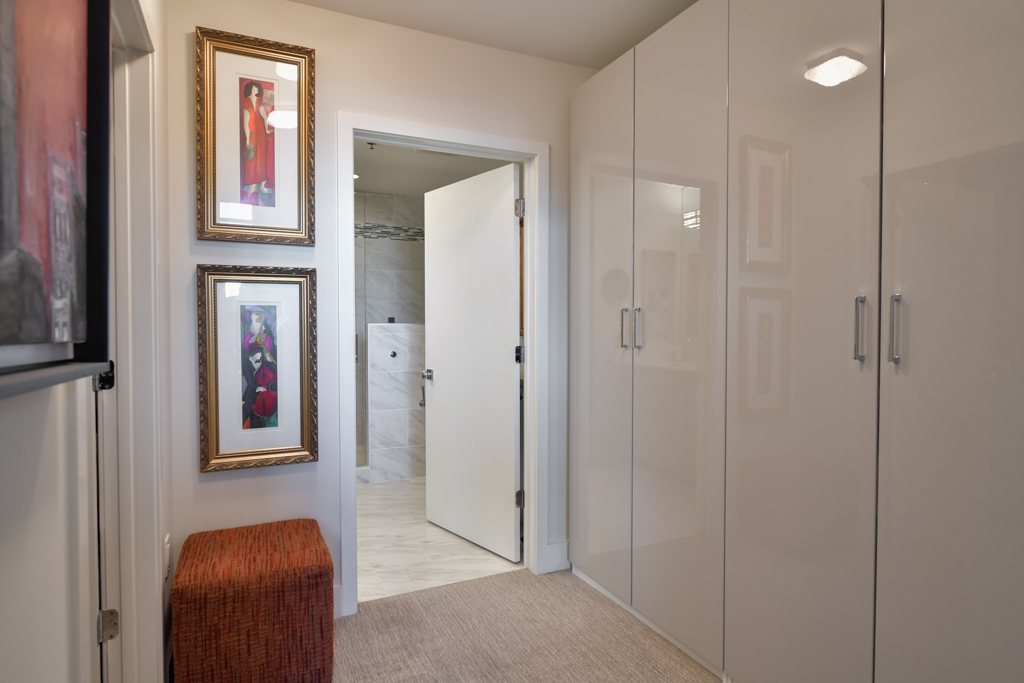 9. Additional closet and storage space